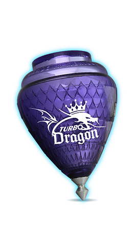 Turbo Dragon Trompos Cometa